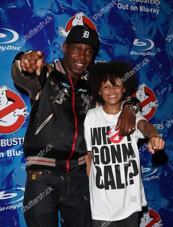 Screening of 'Ghostbusters' to Mark the Blue Ray Dvd Release at the Soho Hotel Dizzee Rascal and Callum Francis
