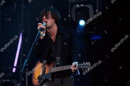 Second Day of the 02 Wireless Festival at Hyde Park Dirty Pretty Things - Didz Hammond