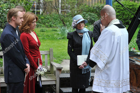 Service of Thanksgiving at St Pauls Church Covent Garden Rhys William Cazenove Isabel Davis and Angharad Rees