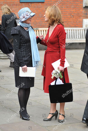 Service of Thanksgiving at St Pauls Church Covent Garden Angharad Rees and Isabel Davis