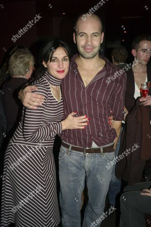 1st Night of Six Dance Lessons in Six Weeks Theatre Royal Haymarket London Curtain Calls and After Party at Suzie Wong Old Compton Street London Billy Zane with His Sister Lisa Zane