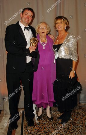 2007 Bafta Television Awards - Party at the Natural History Museum Craig Cash Liz Smith and Sue Johnston