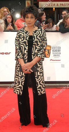 2007 Bafta Television Awards Arrivals at the London Palladium Moira Stuart