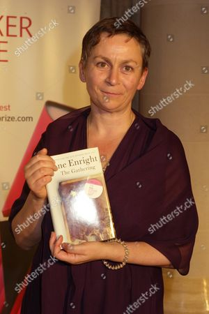the 2007 Man Booker Prize at the Guildhall and Random House Afterparty at Soho House the Booker Prize Winner Anne Enright