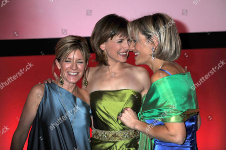 The 2008 Costa Book Awards at the Intercontinental Hotel Hamilton Place London Andrea Catherwood Katie Derham & Emily Maitlis