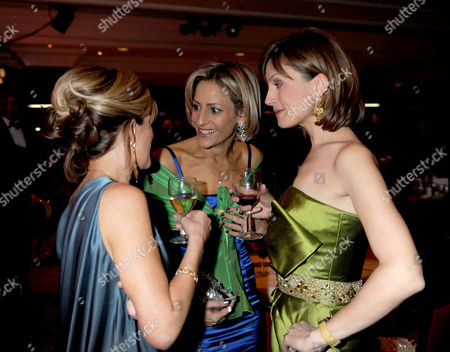 The 2008 Costa Book Awards at the Intercontinental Hotel Hamilton Place London Andrea Catherwood Emily Maitlis & Katie Derham