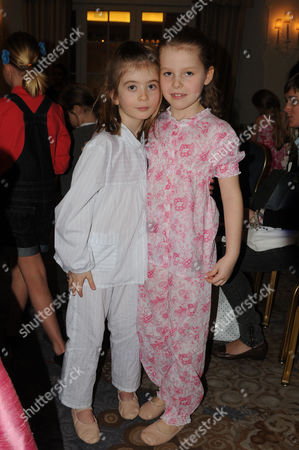 The 6th Goldilocks Fashion Show Presented by Chelsea Ballet Schools at the Dorchester Hotel Ballroom Park Lane in Aid of Kids Company Margarita Armstrong-jones and Eloise Taylor