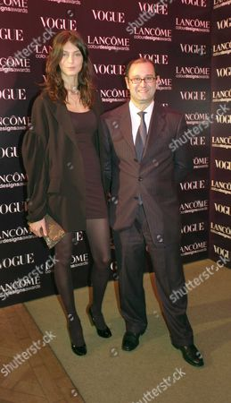 the 6th Lancome Colour Designs Awards Held at Lindley Hall Victoria Daria Werbowy and Claudio Collarile
