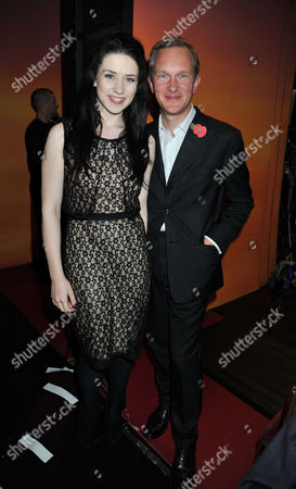 The Angel Awards at the Palace Theatre Charing Cross Road London Danielle Hope & Simon Thurley Ceo of English Heritage