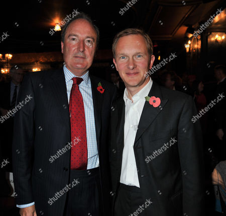 The Angel Awards at the Palace Theatre Charing Cross Road London Charles Moore & Simon Thurley Ceo of English Heritage