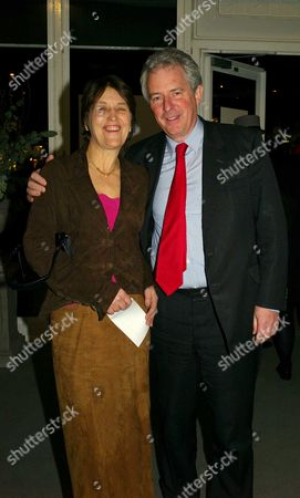 the Bada Antiques and Fine Art Fair Vip Gala Evening Duke of York's Square Chelsea William Arthur Waldegrave Baron Waldegrave of North Hill with His Wife Caroline Waldegrave