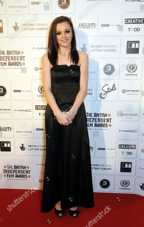 Stock Image of the British Independent Film Awards (bifa) at the Brewery Chiswell Street Katie Jarvis