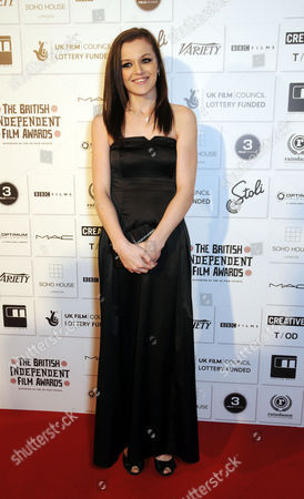 the British Independent Film Awards (bifa) at the Brewery Chiswell Street Katie Jarvis