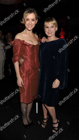 The British Independent Film Awards at the Old Billingsgate Market Lower Thames Street London Anne-marie Duff & Eva Birthistle