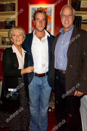 Party to Celebrate the Publication of 'The Crossing' by James Cracknell and Ben Fogle at the Two Brydges Club St Martins Lane Ben Fogle with His Parents Julia Foster & Bruce Fogle
