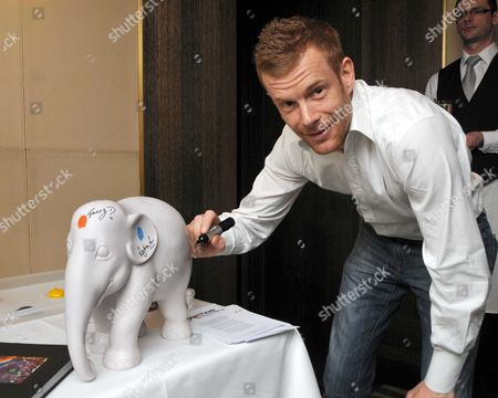 Lunch at Scott's of Mayfair For the Elephant Parade Given by Tanaz Dizadji Tom Aiken
