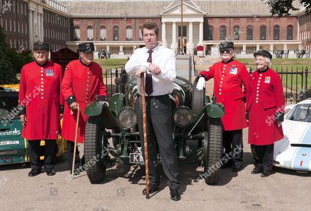 Editorial photo of The Inaugural Chelsea Autolegends Official Launch at the Royal Hospital Chelsea West London. - 11 Aug 2010
