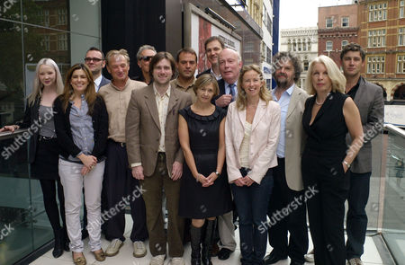 The Launch of the Times Bfi 53rd London Film Festival at the Odeon Leicester Square London Julien Temple Ken Mcmullen Paul King Jez Lewis Kerrie Hayes Julian Fellows Lindy Heymann Stephen Poliakoff Lucy Bailey David Morrissey and Andrew Thompson