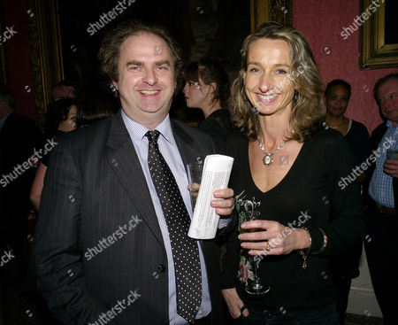 The Literary Review Bad Sex in Fiction Award 2009 at the in and out Club St James Square London Alex Waugh with His Sister Daisy Waugh