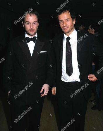 the Miramax Party at the Sanderson Hotel Following the Bafta Awards David Heyman and Matthew Vaughn