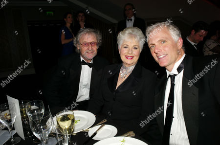 the Olivier Theatre Awards Arrivals and Drinks Reception at the Grosvenor House Hotel Shirley Jones and Patrick Cassidy