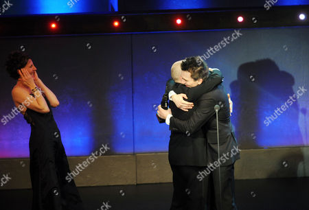 Editorial photo of The Olivier Theatre Awards Arrivals and Drinks Reception at the Grosvenor House Hotel - 21 Mar 2010