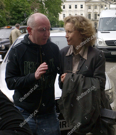 The Original Cast of Fawlty Towers Were Reunited to Celebrate the 30th Anniversary of the Programme at the Naval & Military Club St James Square London Connie Booth and A Fan