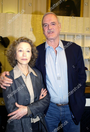 The Original Cast of Fawlty Towers Were Reunited to Celebrate the 30th Anniversary of the Programme at the Naval & Military Club St James Square London Connie Booth John Cleese