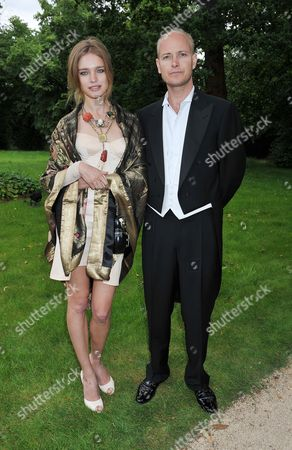 the Raisa Gorbachev Foundation Fourth Annual Fundraising Gala Dinner at Hampton Court Palace Natalia Vodianova with Her Husband Lord Justin Portman
