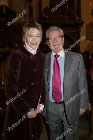 The Rehabilitation For Addicted Prisoners Trust Christmas Carol Service at Chelsea Old Church Cheyne Walk London Chelsea London Susannah York & Sir James Galway