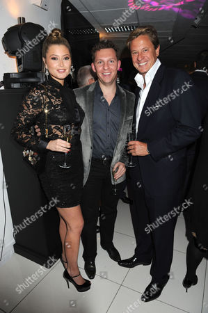 The Reuben Foundation & Virgin Unite Haiti Fundraiser at Altitude London On the 29th Floor of Millbank Tower Millbank London Holly Valance Nick Candy & Rob Hersov