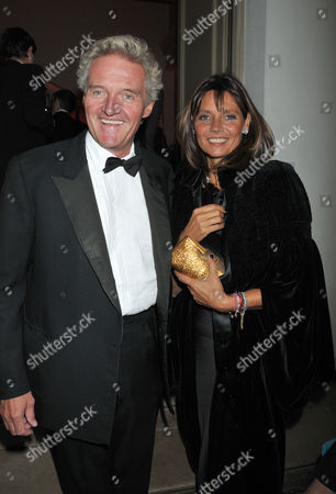 The Royal Rajasthan Gala to Raise Funds For the Indian Head Injury Foundation at the Banqueting House Whitehall London Count Leopold Von Bismarck with His Wife Countess Debbie Von Bismarck