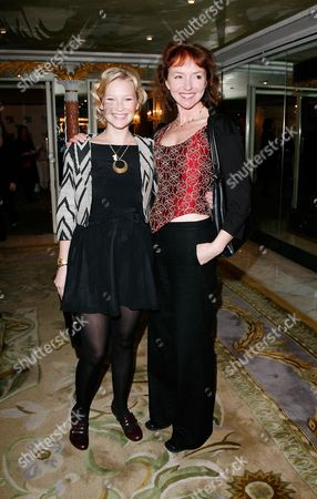 the Southbank Awards Reception at the Dorchester Hotel Joanna Page and Melanie Walters