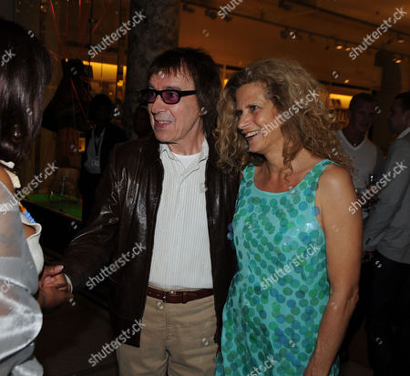 The Story of the Supremes From the Mary Wilson Collection Private View at the V & A Cromwell Road London Bill Wyman and His Wife Suzanne Accosta
