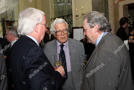 the Threadneedle and Spectator Parliamentarian Awards Lunch in the Ballroom Claridges Lord Geoffrey Howe