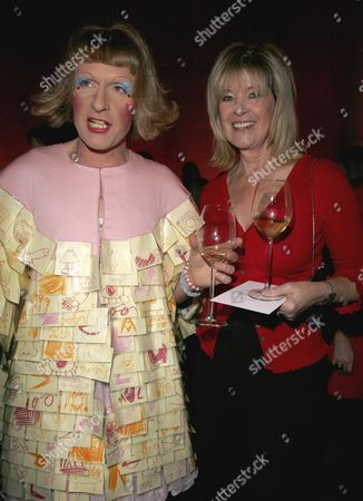 the Turner Prize 2008 at the Tate Britain Grayson Perry and Julia Somerville