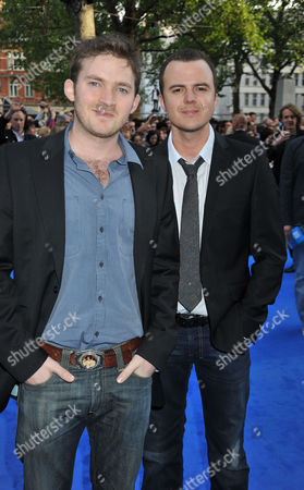 Stock Picture of The World Premiere of 'Night at the Museum 2' at Empire Leicester Square London Matt Littler & Darren Jeffries