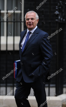 Tuesday Morning Cabinet Meeting at Number 10 Downing Street London Paul Myners Baron Myners Cbe is Financial Services Secretary (a Position Sometimes Referred to As City Minister) Outside Number 10 Downing Street