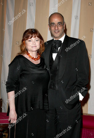 Uk Premiere Afterparty For 'Sex and the City 2' at the Orangery Kensington Palace Art Malik with His Wife Gina Rowe