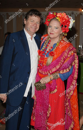 Uk Premiere Afterparty For 'Sex and the City 2' at the Orangery Kensington Palace Danny Moynihan with His Wife Katrine Boorman