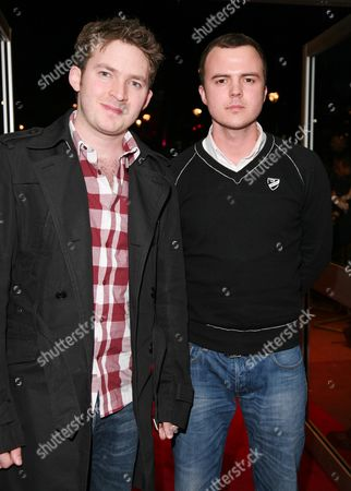 Uk Premiere of '17 Again' at the Odeon Westend Matt Littler and Darren Jeffries