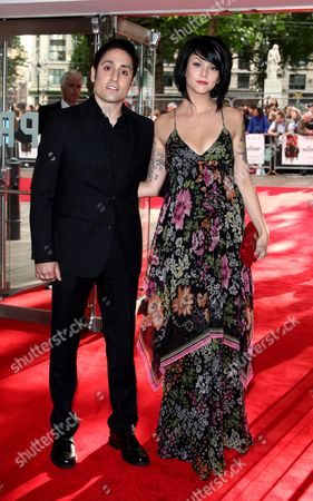 Uk Premiere of 'Inglourious Basterds' at the Odeon Leicester Square Omar Doom with His Girlfriend