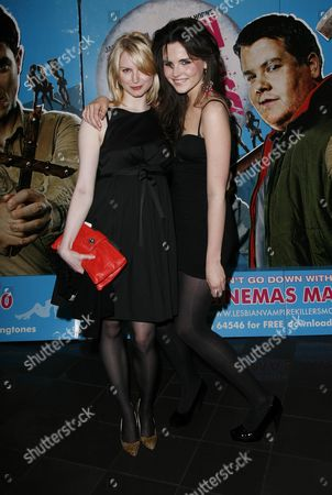 Uk Premiere of 'Lesbian Vampire Killers' at the Vue Leicester Square Louise Dylan and Emer Kenny