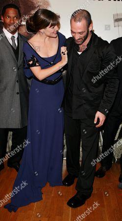 Jennifer Garner and Ashraf Barhom