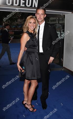 Uk Premiere of 'Transformers 2 Revenge of the Fallen' at the Odeon Leicester Square Kate Walsh and Philip Taylor