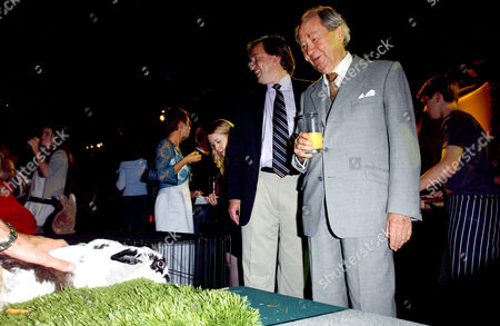 Uk Premiere of 'Wallace and Gromit the Curse of the Were Rabbit' Afterparty at the Trocadero Peter Sallis