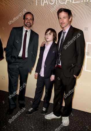 Uk Premiere of 'Where the Wild Things Are' at the Vue Leicester Square London Producer Vince Landay Director Spike Jonze and Max Records