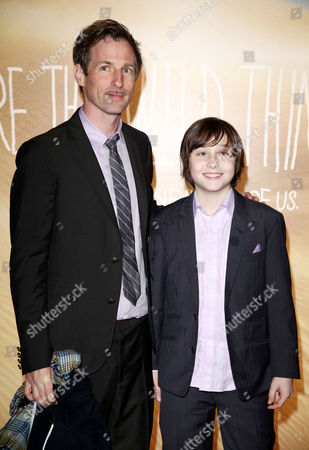 Uk Premiere of 'Where the Wild Things Are' at the Vue Leicester Square London Director Spike Jonze and Max Records