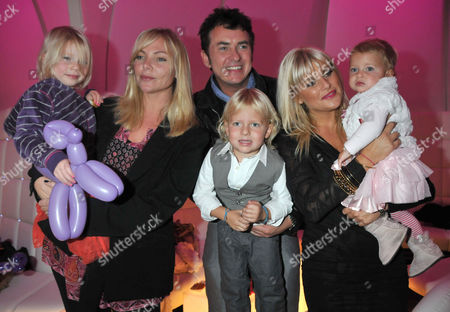 Stock Photo of Vip Launch of 'Disney On Ice Presents Princess Wishes' at the O2 Greenwich Samantha Janus with Her Daughter Lily-rose Womack Shane Richie with His Wife Christine and Children Lolita-belle and Mackenzie-blue