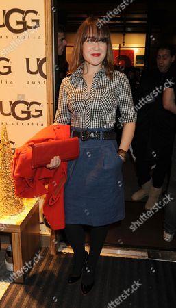 Vip Opening of Ugg Australia in Long Acre Covent Garden London Scarlett Johnson